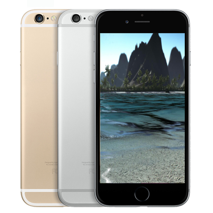 Used Apple Iphone 6 PLUS 6p Dual Core Smartphone 16GB/64GB/128GB ROM Fingerprint 4G LTE WIFI GPS 5.5