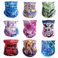 Многоцветные бесшовные банданы головной убор шарф  магический  маска на голову трубчатая обертка велосипедный головной платок Frauen Schal