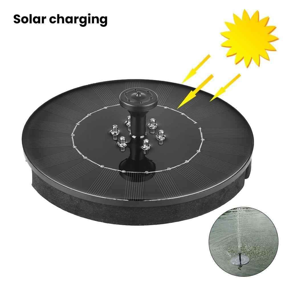 200L/H Mini Solar Power Air Mancur Taman Kolam Renang Kolam Dekorasi Outdoor Mandi Burung Panel Tenaga Surya/Solar Panel Mengambang Air Mancur pompa Taman