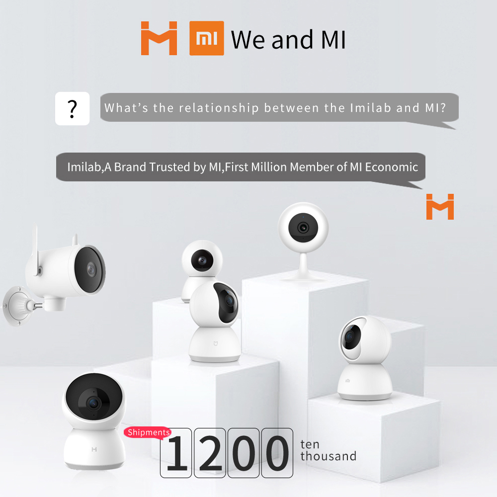 xiaomi 2020 2K 1296P HD Smart Home Camera A1 Webcam WiFi Night Vision 360 Angle Video Camera Baby Security Monitor mi home app