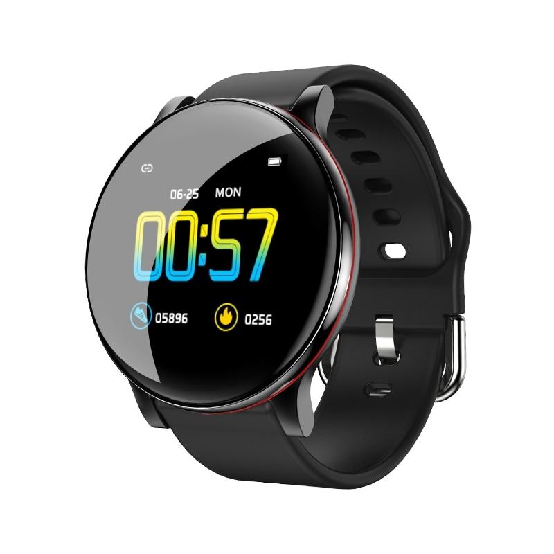 ZL01 Dynamic Blood Pressure 20mm Detachable Strap Caller ID Display Music Control Bluetooth Pedometer Sport Smart Watch
