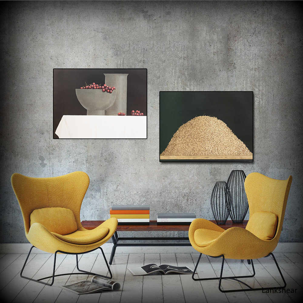 Wall Art Fruit Master Canvas Painting Creative Decorative Painting Niche Living Room Nordic Simple Restaurant Painting No Frame Painting Calligraphy Aliexpress