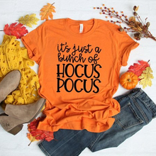 Hocus pocus shirt Women t tee halloween top womens chic female tshirt classics parties tops Brand 100% Cotton