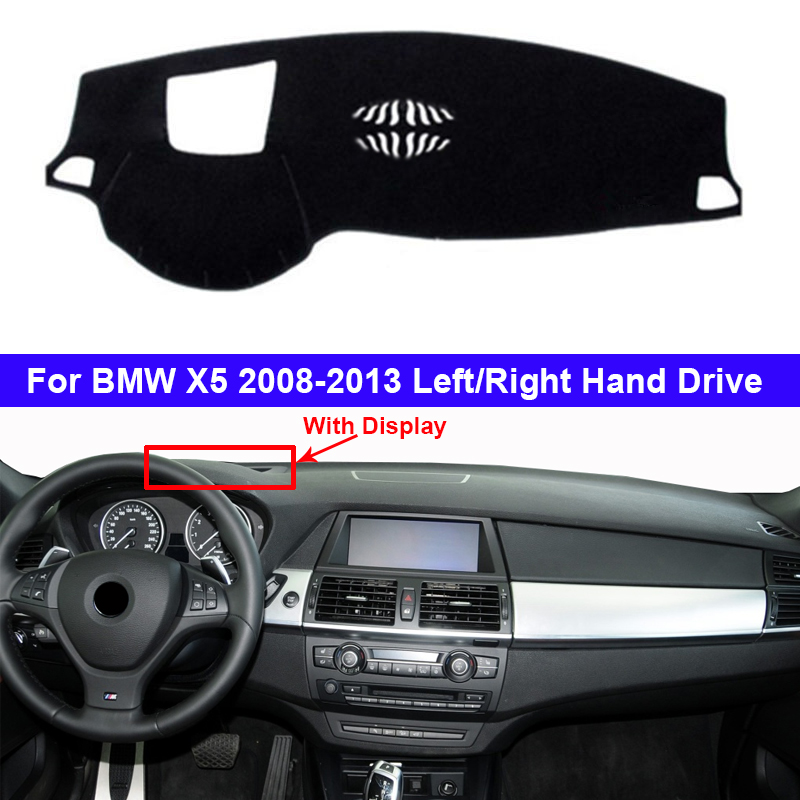 Car Dashboard Cover Dashmat Carpet Dash Mat Cape For BMW X5 E70 2007 - 2013 For BMWX5 2012 2011 2010 2009 2008 Anti-sun