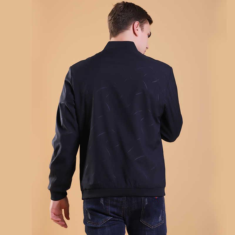 2020 zima jesień wysokiej jakości kurtka męska stylowe mężczyźni płaszcz sweter nowy List kurtka mężczyźni ubrania z długim rękawem