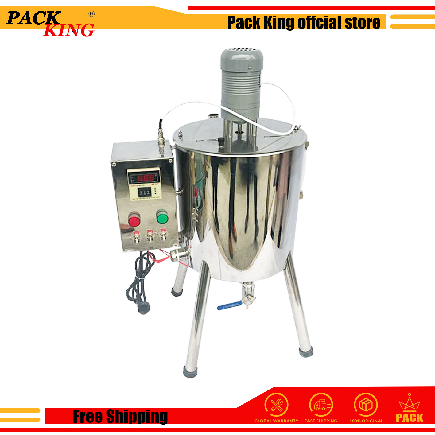 Heating And Stirring Filling Machine Lipstick Hand Soap Filler Heater Making Device Lip Stick Heat Tank