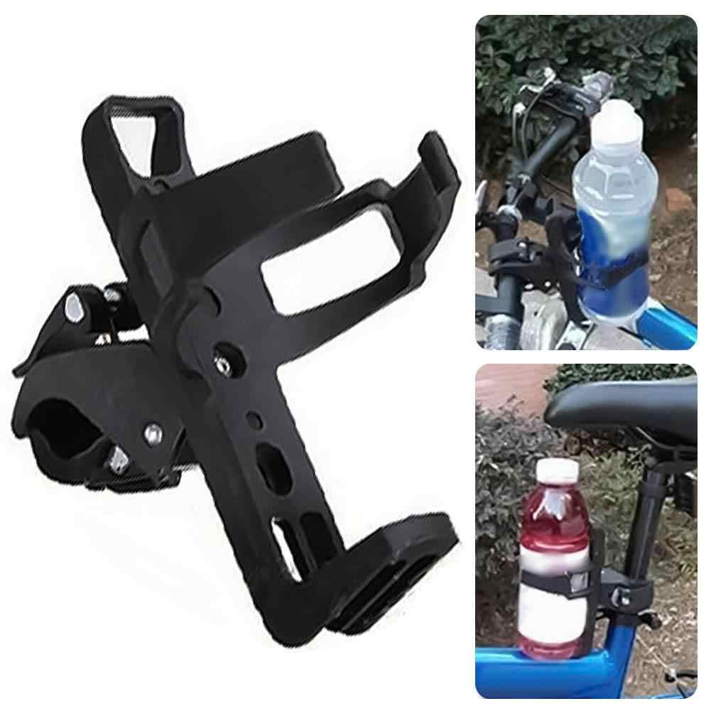 Bike Bicycle Cycling Handlebar Clamp Clip Water Bottle Cup Cage Mount Holder G