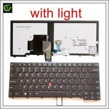 Originale Retroilluminata Tastiera Inglese per lenovo ThinkPad L440 L450 L460 L470 T431S T440 T440P T440S T450 T450S e440 e431S T460 US