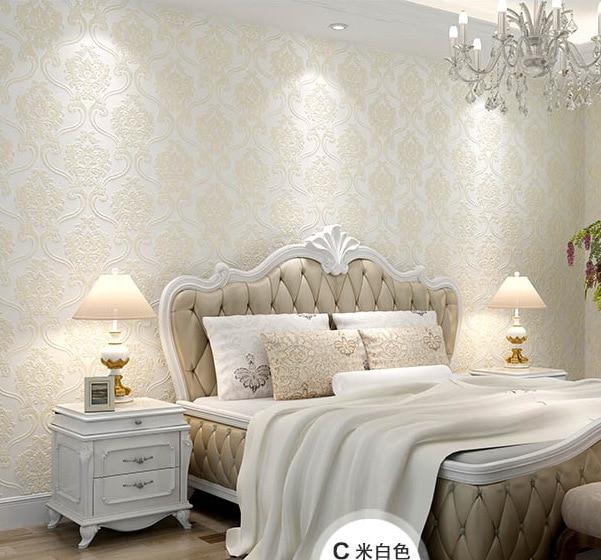 Водонепроницаемые толстые роскошные обои в европейском стиле для виллы, гостиной, спальни, настенные модели, обои для магазинов
