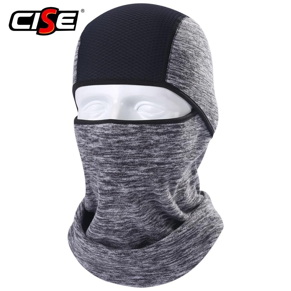 Winter Warmer Fleece Balaclava Full Face Mask Motorcycle Cycling  Thermal Hood Liner Shield Hat Sports Ski Bike Bicycle  SnowboardMotorcycle Face Mask