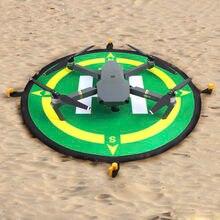 55cm 75cm 25cm portátil estacionamento avental fast-fold almofada de pouso para dji fantasma 3 4 pro zangão para dji faísca rc quadcopter