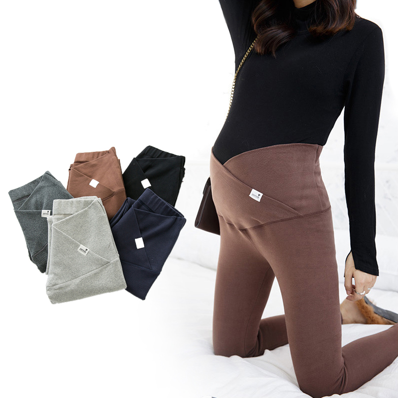 Autumn Winter Cotton Maternity Leggging Pregnancy Clothes Women Pants For Pregnant Women Leggings Maternity Clothing M-XL