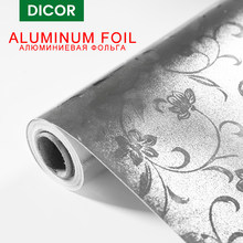 Najlepsze naklejki kuchenne folia aluminiowa kwiaty olejoodporne wodoodporna kuchenka do gotowania szafka samoprzylepna naklejka na ścianę tapety zrób to sam