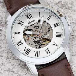 FOSSIELE Heren AAA Horloge Mode Merk Quartz horloge Heren Chronograaf Sport Horloges met Lederen Band