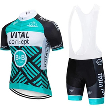 vital team bib short Cycling Jersey Set Maillot Ropa Ciclismo Racing Bicycle Clothing kit Men Mountain Bike Clothes Cycling suit 2020 new cycling jersey set pro cycling kits summer men racing bicycle maillot ciclismo mtb short jersey bib shorts team suit