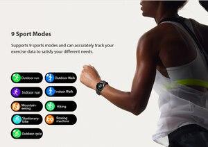 Image 5 - Blackview x1 smartwatch 5atm, relógio inteligente unissex esportivo, monitoramento de sono, à prova d água, monitor de frequência cardíaca, para ios e android telefone móvel