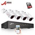 ANRAN CCTV Sistema di Telecamere di 4CH/8CH POE NVR Kit 48V Onvif Sistema di Telecamere di Sicurezza HD IP Camera Outdoor video Sistema di Sorveglianza