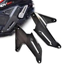 Per Honda ADV150 ADV 150 2019 2020 pannello laterale in fibra di carbonio carenatura cornice copertura custodia protettiva parti decorative moto