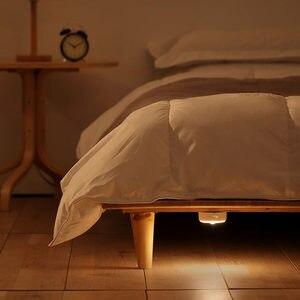 Image 2 - Mijia lámpara con Sensor de movimiento, luz LED nocturna Original, Mini luz recargable por USB, para decoración de dormitorio, lámparas colgantes