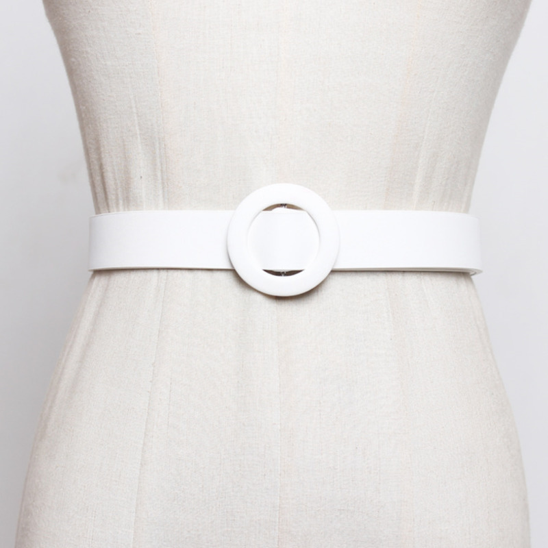 2020 New Design Hot Sale Corset Belt Tide High Fashion Belts For Women All-match Solid Fine Belt Stylish Waistband Female ZL040