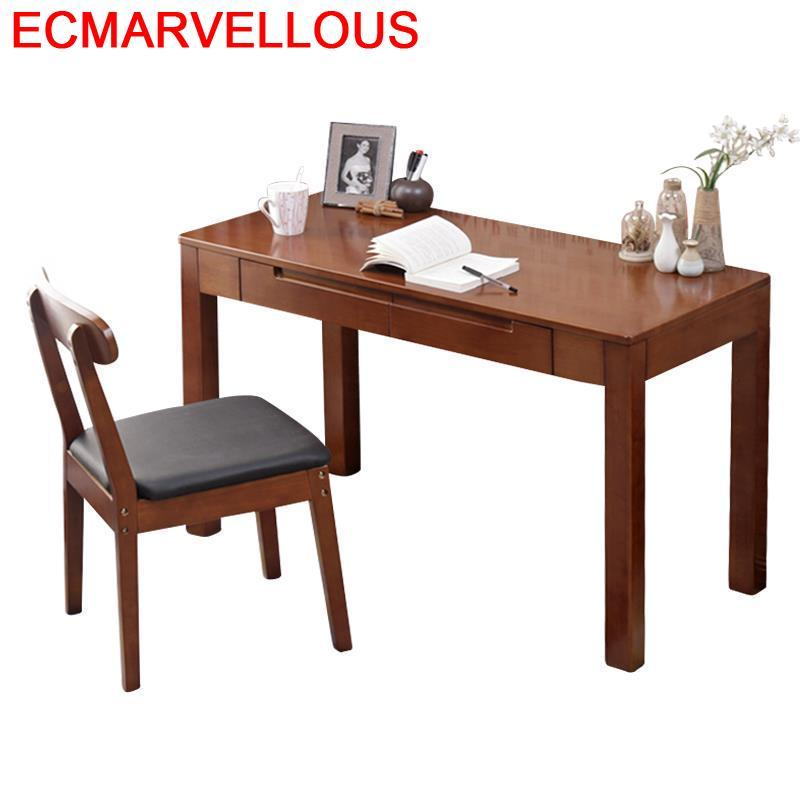 Escrivaninha Tisch Escritorio Mueble Office Tafelkleed Notebook Stand Nordic Tablo Laptop Bedside Mesa Desk Study Computer Table