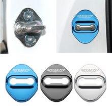 Автомобильный Стайлинг 4 шт. крышка дверного замка автомобиля Авто эмблемы для Mazda 2 3 6 Demio CX3 CX-5 CX5 CX 5 CX7 CX9 MX5 Axela ATENZA аксессуары