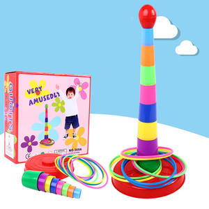 Ring-Toys Garden-Pool-Toy Outdoor-Games Hoop Sport-Ring Plastic Kids Child for Colorful