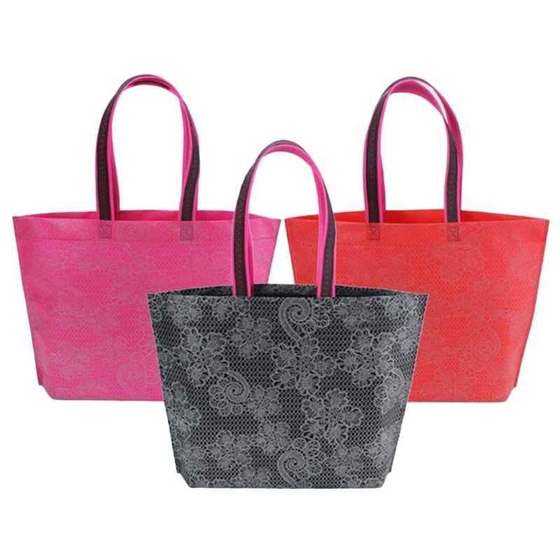 Portatile Pieghevole Shopping Bag di Grande Capacità Impermeabile di Spessore Borsa Ripstop