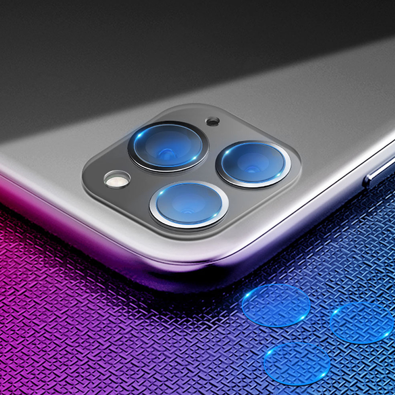 2pcs Camera lens For IPhone11 11 Pro Max Camera Glass Lens Scratchproof 9H Full Cover Camera Protector Glass For IPhone 11 Pro