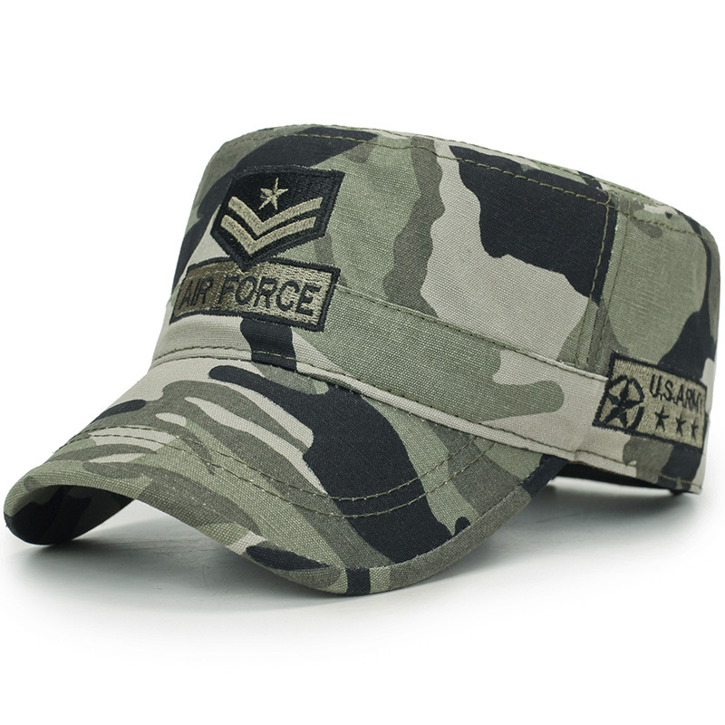 air force Military Camouflage Tatical Cap Airsoft Paintball Outdoor Hunting Baseball Caps Men Multicam Soldier Combat Sun Hat