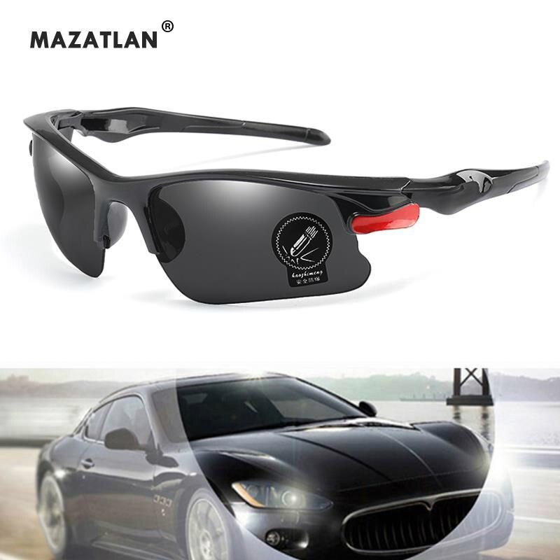Brand Sport Sunglasses Men Women Sports Sunglasses Outdoor Driving Fishing Night Vision Glasses Men's Gafes De Sol UV400