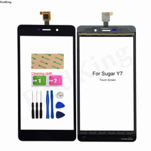 New Phone Touch Screen For Sugar Y7 Touch Screen Digitizer Front Glass Touch Panel Sensor Replacement Parts