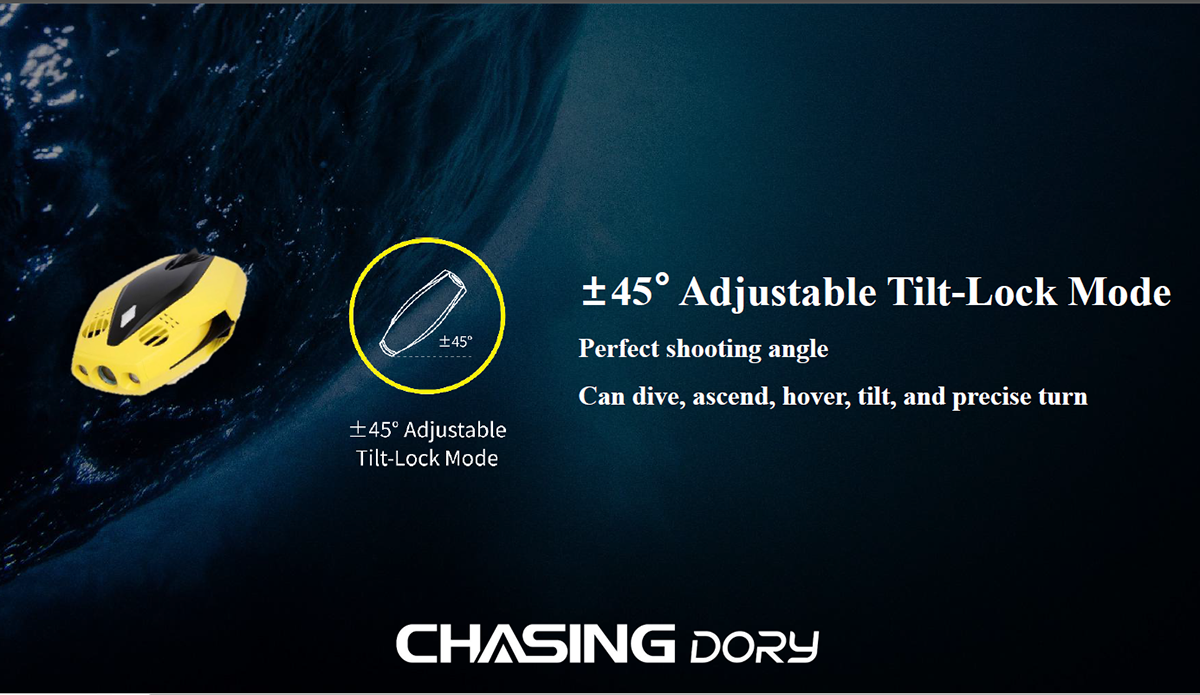 H770def7431694eb1a7cfdc856e5134aa3 - In Stock Chasing DORY Mini Underwater Diving Fishing 1080P HD Video Camera Drone Robot 15M Depth Lowest Prices