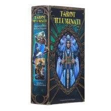 Kit de Tarot Illuminati Oracle, jeux de société, cartes de fête
