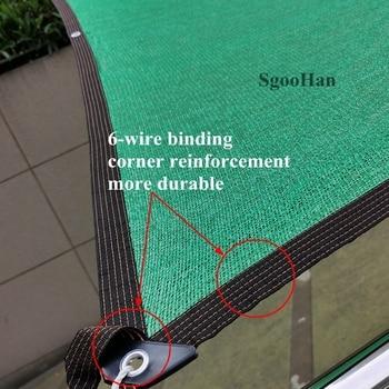 Anti UV HDPE Green Sun Shading Net Outdoor Sunshade Net Garden Shelter Canopy Succulent Plant