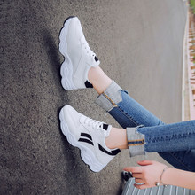 Breathable Sneakers Casual Women Sneakers New Fashion Casual Mesh White Shoes Woman Vulcanize Shoes habuckn 2020 new white leisure sneakers women shoes chunky sneakers platform vulcanize shoes woman breathable mesh sequins