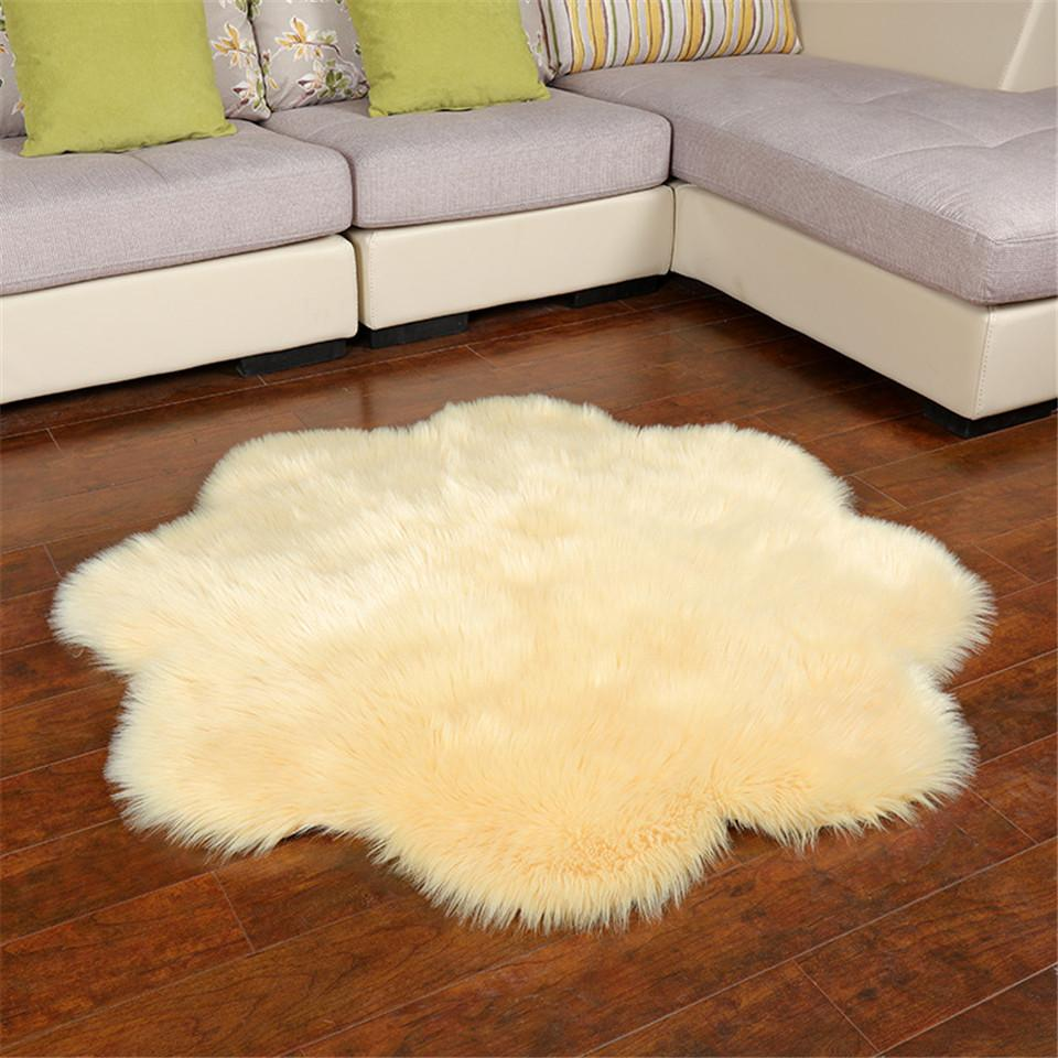 tapis de nuage blanc de 34 120cm grand tapis de salon pour chambre d enfants motif de fleurs decoration de noel xxl