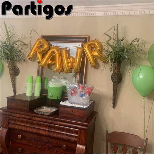 4 قطعة Rawr البالونات ، عيد الأولاد ، طفل عيد ميلاد بالونات ، حديقة الحيوان حزب ، السيرك حزب بالونات ، ديناصور حزب موضوع ، RAWR