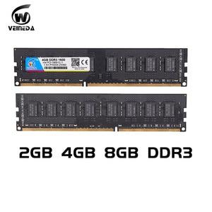 Image 5 - ОЗУ DIMM DDR3 VEINEDA, 4 ГБ, 8 ГБ, 1600 МГц, совместимая с 1333/1066, PC3 12800, 240 контактов, для любых ПК с AMD и Intel