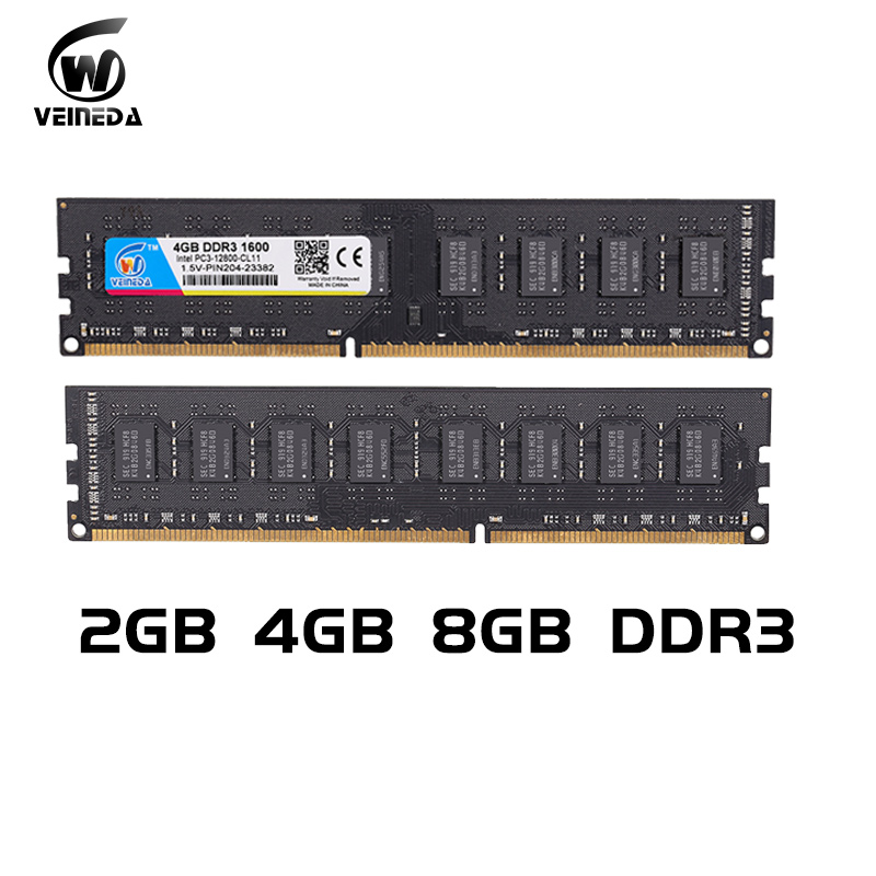 Image 5 - VEINEDA Dimm Ram DDR3 4 gb 8 gb 1600Mhz Compatible 1333 1066 ddr 3 4gb PC3 12800 Memoria 240pin for All AMD Intel Desktopram ddr3 4ddr 3 4gbram ddr3 -