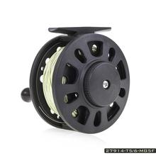 MeterMall GLA 5/6 Fly Fishing Reel Wheel with Line Left/Right Hand Tackle Tool Accessories 1:1 Hand-Changed