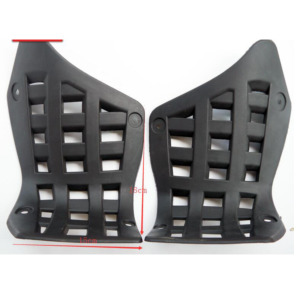 2 Pcs 5.91 Inch ABS Plastic Foot Rest Guard Footpegs For ATV/Jinling 250cc /EEC JLA-21B & JLA-923 Motorcycle Quad Pit Dirt Bike