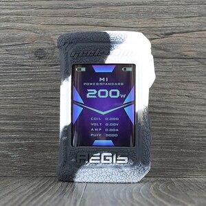 Image 3 - Koruyucu silikon kılıf için Geekvape Aegis X 200W vape kapak kauçuk cilt wrap Sticker kılıf kabuk gövde damper jel aegisx