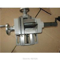QKF 2 bench drill, variable milling machine, precision cross vise, small vise, 6 inch