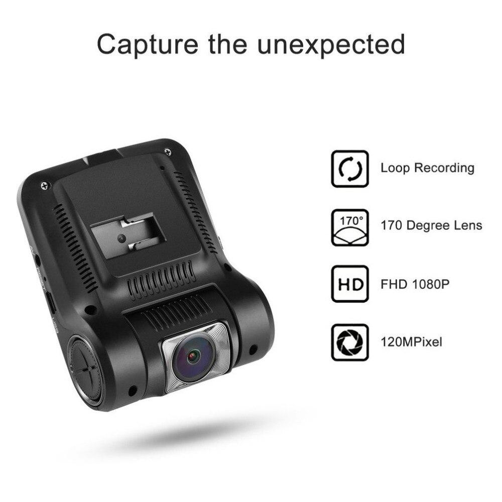 LESHP, 2,4 дюймов, Автомобильный видеорегистратор, HD 1080 P, Автомобильная камера для вождения, видеорегистратор, приборная панель, камера на 170 гра...