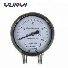 цена на ss Differential pressure&Vacuum Usage pressure manometer gauge