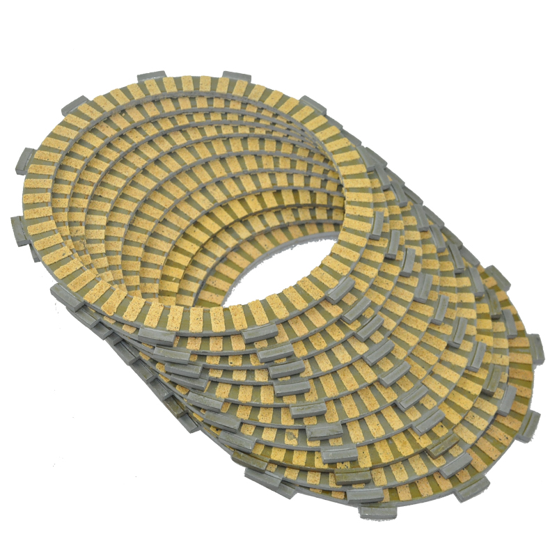 10pc Motorcycle Friction Clutch Plates for Honda GL1500 Gold Wing Valkyrie  GL1500SE GL1500C Motorbike Engine Parts|  - title=