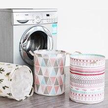 Kleidung Wäsche Korb Tasche Folding Wäsche Korb Große Kapazität Kleidung Lagerung Tasche Kinder Spielzeug Lagerung Eimer Wasserdicht