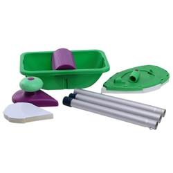 9 sztuk/zestaw wałek do farby tacy podkładki z gąbki zestawy gospodarstwa domowego pędzel do malowania dekoracja ściany narzędzia ręczne domu pokój narzędzia ręczne diy zestaw w Zestaw narzędzi do malowania od Narzędzia na