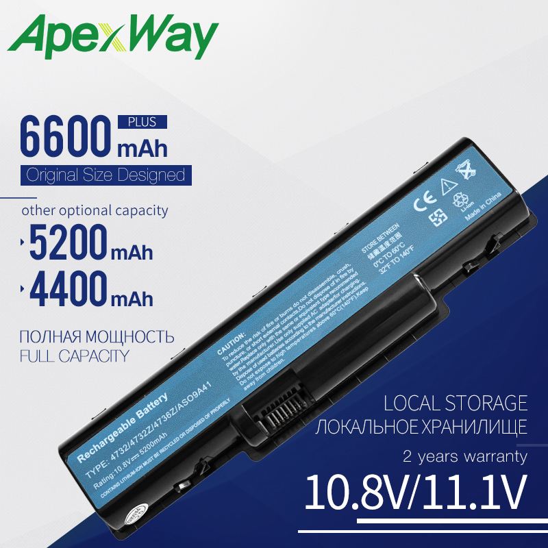 Laptop Battery For Acer emachines E525 E627 E725 D525 D725 D620 for aspire 5516 5517 4732 5532 5332 AS09A31 AS09A41 AS09A51